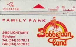 BELGIUM - Family Park Bobbejaanland, CN : 545A, Used - Belgium