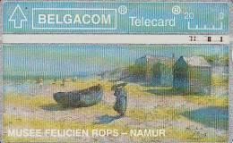 BELGIUM - Musee Felicien Rops-Namur, Tirage 52500, CN : 303F, Used - Belgium