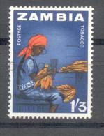 Zambia Sambia 1964 - Michel 9 O - Zambia (1965-...)