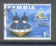 Zambia Sambia 1964 - Michel 8 O - Zambia (1965-...)