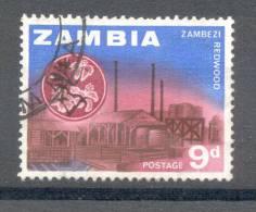 Zambia Sambia 1964 - Michel 7 O - Zambia (1965-...)