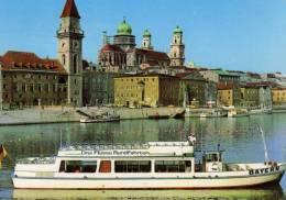 01658 Motorschiff BAYERN Bei Passau Auf Der Donau - Autres