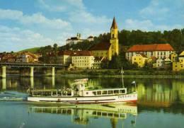 01668 Motorschiff PASSAU Bei Passau Auf Der Donau - Autres