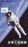 Télécarte Japon ESPACE (338) Phonecard JAPAN * SPACE SHUTTLE * Rakete * Rocket * Fusée * NASDA * LAUNCHING * ASTRONAUTE - Espace