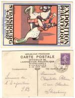 Entier Postal EP - Semeuse 40c Violet - Expo Strasbourg - Standaardpostkaarten En TSC (Voor 1995)