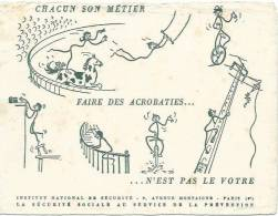 Buvard Institut National De Securite - Buvards, Protège-cahiers Illustrés