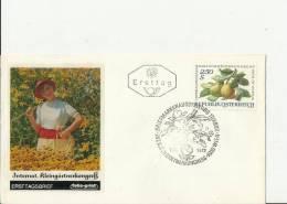 AUSTRIA 1972 – FDC INTERNATIONAL ALLOTMENT HOLDER CONGRESS (DES 2) PEAR BRANCH W 1 ST OF 2,50  SH POSTM VIENNA  SEP 7 RE - FDC