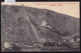 Tiflis (Tbilissi) : Ca 1908 - Funiculaire Sur Le St. David (11´156) - Russie