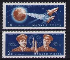 HUNGARY   1962 Vostok 3 & 4 - Space