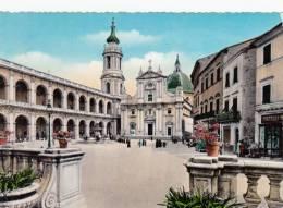 Italie Italia - Loreto Lorette - Plaza Madonna Basilica Basilique - Neuve - État  TB - Ancona