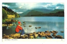 Cp, Pays De Galles, Llyn Padarn In Snowdonia, Voyagée 1973 - Pays De Galles