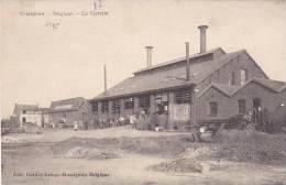 Momignies Belgique  La Verrerie Bien Animé Circulé Dans Une Enveloppe En 1918 - Momignies