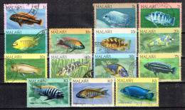 MALAWI /Oblitérés/Used/1984 - Poissons - Malawi (1964-...)