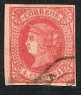 Ed. 64 Isabel II 4 Cuartos Usado - 1850-68 Royaume: Isabelle II