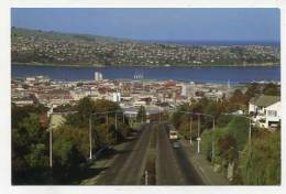 NEW ZEALAND - AK 147381 Dunedin City From Stuart Street Bridge Also Showing Otago Harbour - Nouvelle-Zélande