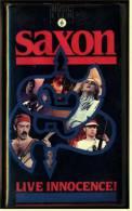 VHS Musikvideo Heavy Metal  -  Saxon Live Innocence  -  Von 1989 - Concert Et Musique