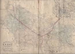 Département De La Somme 80 - Geographical Maps
