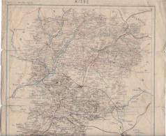 Département De L AISNE 02 - Cartes Géographiques