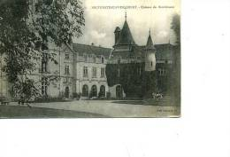 88 NEUFCHATEAU   FREBECOURT CHATEAU DE BOURLEMONT 1916 ED DAMANCE - Neufchateau