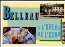 02 - BELLEAU A L'HEURE DE L'EURO - 10 MARS 2002 - 15ème SALON DE LA  COLLECTION - CPM - Bourses & Salons De Collections