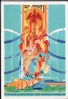 06 - NICE - 21 22 SEPTEMBRE 1991 - 5ème SALON DE LA  CARTE POSTALE - CPM - Bourses & Salons De Collections