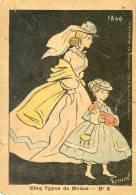 """FERNEL - N°3 Cinq Type De Mode .Collection Du Journal """" Mes Cartes Postales"""" - Reclame"""