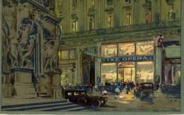 CPA PARIS THE IXE OPERA TEA ROOM. 1903. RARE - Distrito: 09