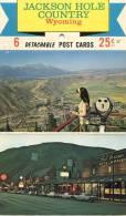 Jackson Hole Country - 5 Détachable Post Cards - Etats-Unis