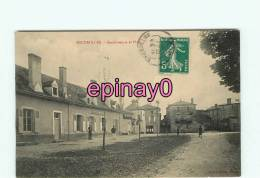 Br - 03 - ESCUROLLES - Gendarmerie Et La Place - édit. David Michel - - France