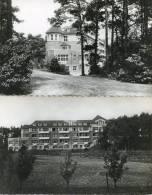 Lot De 2 Cartes Du Sanatorium D´Helfaut Par Wizernes - Pavillon 3 Aile Gauche Et Vu Du Fond Du Jardin - France