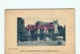 Br - 03 - POUZY MESANGY - Chateau De Champroux - édit. Ch. Desrue -- - France