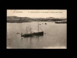 """50 - ILES CHAUSEY - Le Yacht à Vapeur """"Ondine"""" - 88 - Bateau Vapeur - Granville"""