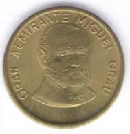 PERU 50 CENTIMOS 1988 - Perú