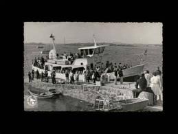 """50 - ILES CHAUSEY - A Bord Du """"Présidenr Quoniam"""" - Bateau - Granville"""