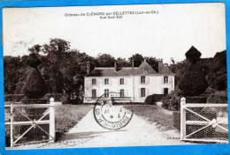 41 CHATEAU DE CLENORD PAR CELLETTES VUE SUD EST - Autres Communes