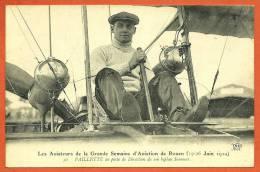 CPA Aviation - PAILLETTE (Biplan SOMMER) Aviateur De La Grande Semaine D´ Aviation De ROUEN 76 En Juin 1910 - Airmen, Fliers