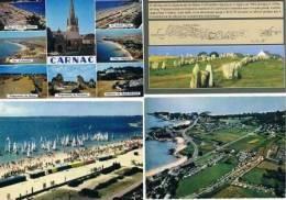 270213A  Lot De 34 CPM/CPSM Couleur  Vierges Pour Courrier : Dep.56 Carnac - Cartes Postales