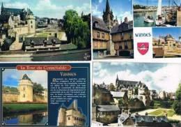 270213E  Lot De 50 CPM/CPSM Couleur  Vierges Pour Courrier : Dep.56 Vannes - Cartes Postales
