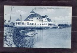 """36029     Belgio,  Knocke S/Mer  -  Albert-Plage -  Cafe-Hotel  Et  """"Pavillon Du  Lac"""",  NV - Knokke"""
