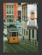 - MAXIMUM CARD PORTUGAL LISBON FUNICULAR GLÓRIA TRAIN TRAM LISBOA TRAMCARS TRAMS - Maximum Cards & Covers