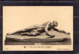 36036   Belgio,    Bruxelles  -  Musee -  V. Van  Hove (1826-1891)  -  La  Vengeance,  NV - Musei