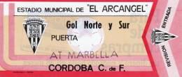 33 ENTRADAS SIMILARES. CORDOBA CLUB DE FUTBOL. EXCELENTE BUENA CALIDAD. ENVIO GRATIS - Andere Sammlungen