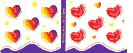 """Carnet """"Saint Valentin Dites-le Avec Des Timbres"""" N°3221A Année 1999 Neuf ** - Mint/Hinged"""