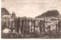 Briançon (Hautes Alpes)-1917- Vue Prise De La Route Du Lautaret-Texte écrit Au Crayon à Papier D´un Hôpital (voir Scan) - Briancon