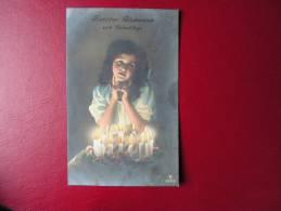 == Schönes Mädchen Motiv, Mädchen, Portrait, Fillet, Girl, Child   1916 - Portraits