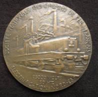 M00967 S.N.C.F. Electrification Valenciennes Thionville, 1955 Par Belmondo, Une Locomotive Et 2 Cheminots (148 G.) - Professionals / Firms