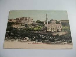 Constantinople Costantinopoli  Yildiz Kiosk Parata Militare - Turquie