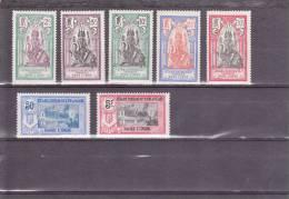 INDE - YVERT N°49/55 * - COTE = 15 EUR. - - Unused Stamps