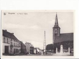 Belgique - Brugelette , La Place Et L'Eglise - Brugelette