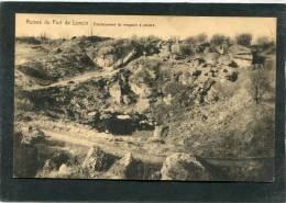 Ruines Du Fort De Loncin - Emplacement Du Magasin à Poudre - Guerra 1914-18